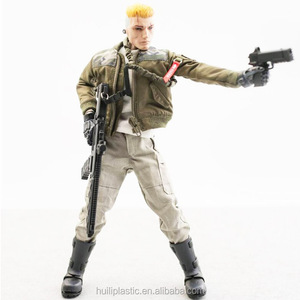 Custom 3d Articulated Action Figure ,OEM Plastic Movable Action Figure, Making 12 INCH Custom Action Figure With Accessories