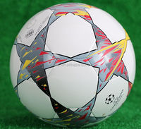 PVC official game soccer, TPU training soccer ball, PU football machine stitched soccer ball