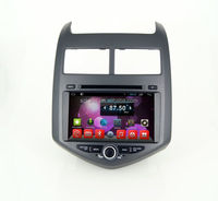 Quad core dvd car audio navigation system,wifi,BT,mirror link,DVR,SWC for Chevrolet Aveo