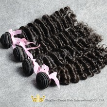 Alibaba China Wholesale No Tangle No Shedding Deep Curly Cheap Bresilienne Remy Human Hair Weaving