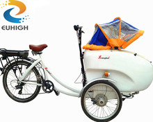 3 wheel large carrying motorcycle cargo tricycle