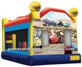 Cars inflatable bouncer A2036 with free shipping by sea