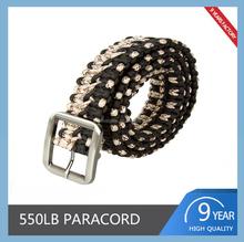 Wholesale Survival 550 Paracord Belt High Quality Camping Equipment Survival