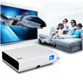 CRE X3001 Latest Short Throw LCD Projector Mobile Phone Multimedia Digital Projector