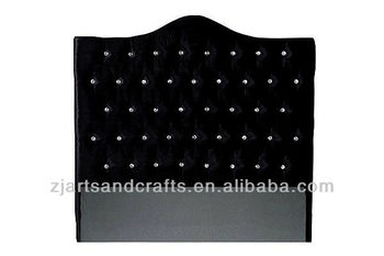 8003 black velvet head board