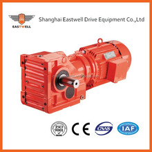 high efficiency K series helical- bevel speed reducer bevel gearbox/electric motor reduction Helical Bevel gearbox electricmotor