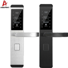 House Security Door Handle Keyless Card Digital Smart Password Fingerprint Door Lock
