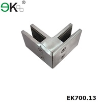 Stainless steel saddle fence clamps for garden fence