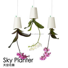 Creative Flower Pot Plastice Sky Planter Mini Sky Garden Hang Suspended Decorative Sky Planter
