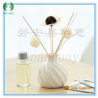 Home fragrance reed diffuser / ceramic diffuser with artificial flower