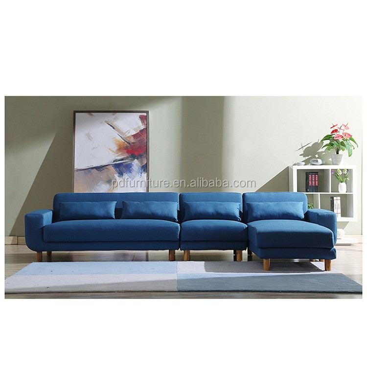 Hot sell unique shape sofa wooden furniture model setcorner sofa au