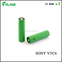 Hot sale new products 18650 3000mAh 30A us18650vtc6 battery for electronic cigarette batteries mod accu