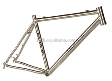 700C alloy titanium road racing bike frame