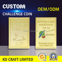 OEM design bulk wholesale custom metal tungsten replica south africa gold souvenir coins for dealers