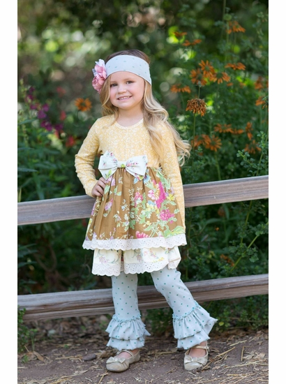 best selling ribbon bow ruffle boutique children clothing