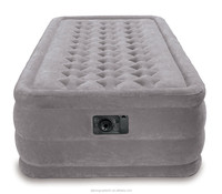 Single Size Air Mattress with Internal High Capacity Pump