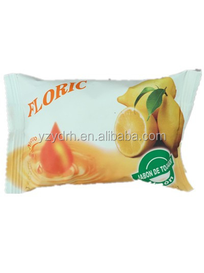 Beauty cheap bar soap with plastic packing
