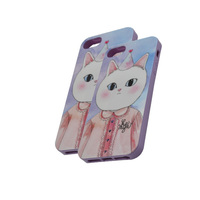 Mobile Phone Accessories for iPhone 5 TPU Phone Case with IMD Printing