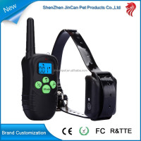 Remote Dog Training Collar Rechargeable, for up to1 or 2 Dogs from 15 to 100 lbs Breed Vibration/Shock E-Collar