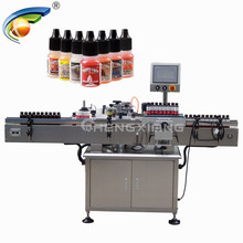 Alibaba china labelling machine price,sticker automatic round bottle labeller