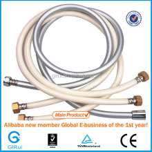 Flexible shower hose fittings