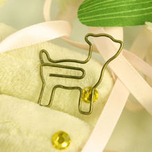 dog shape paper clip 2014 new promotional products novelty items