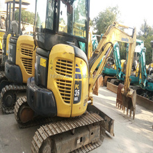 Mini excavator PC35MR-2 used Japan's original yuchai mini excavator parts in shanghai for sale