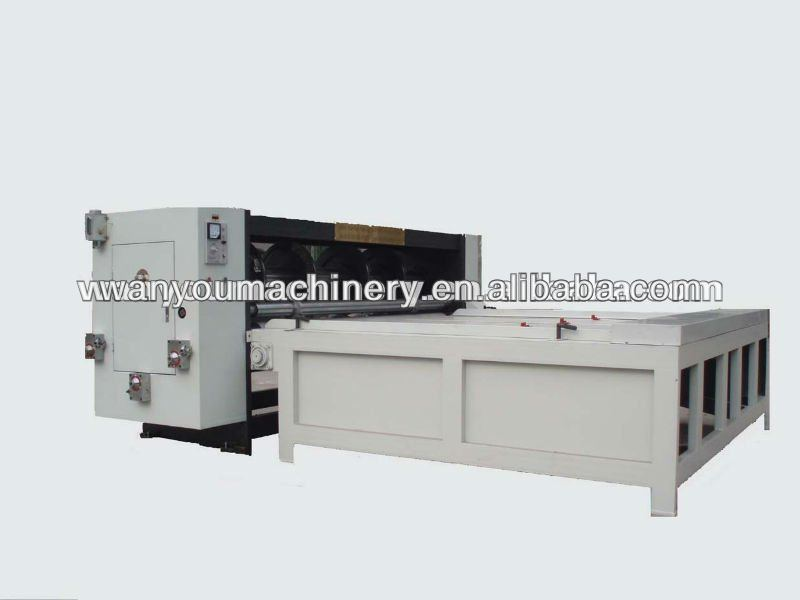 Flexo slotting machine