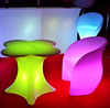LED light bar table glowing flower bar table leisure table