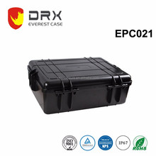 High protective level waterproof plastic tool box flight case