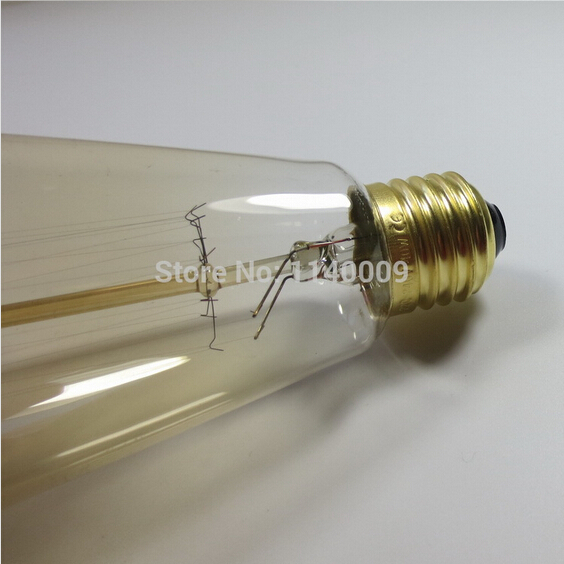 ST64 Tungsten 110V/220V 40W/60W E26/E27 antique edison bulb/vintage edison bulb decorate pendant light bulb