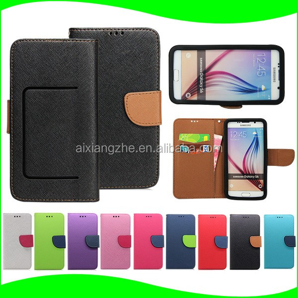 smart watch High Quality Wallet Style Mobile Phone Flip Leather Case Cover for vivo y21,for samsung latest mobile models 2016