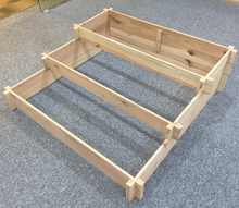 3 Tier Planter Wooden Raised Vegetable Garden Bed