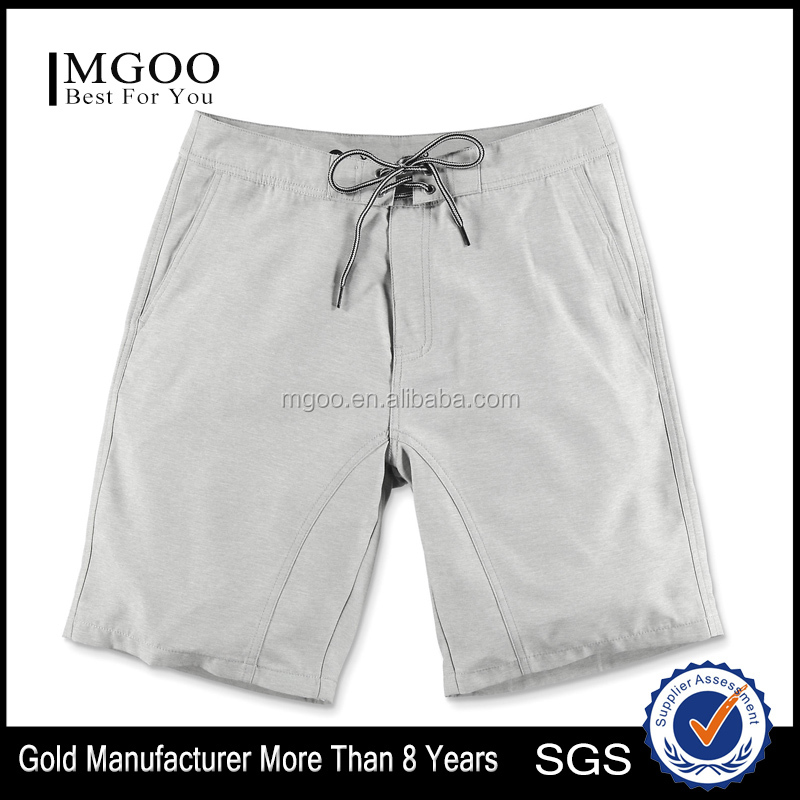 Summer Fashion Heather Grey Hybrid Shorts Street-Inspired Design Meal Beach Shorts Moisture-wicking Construction Fast Dry Shorts
