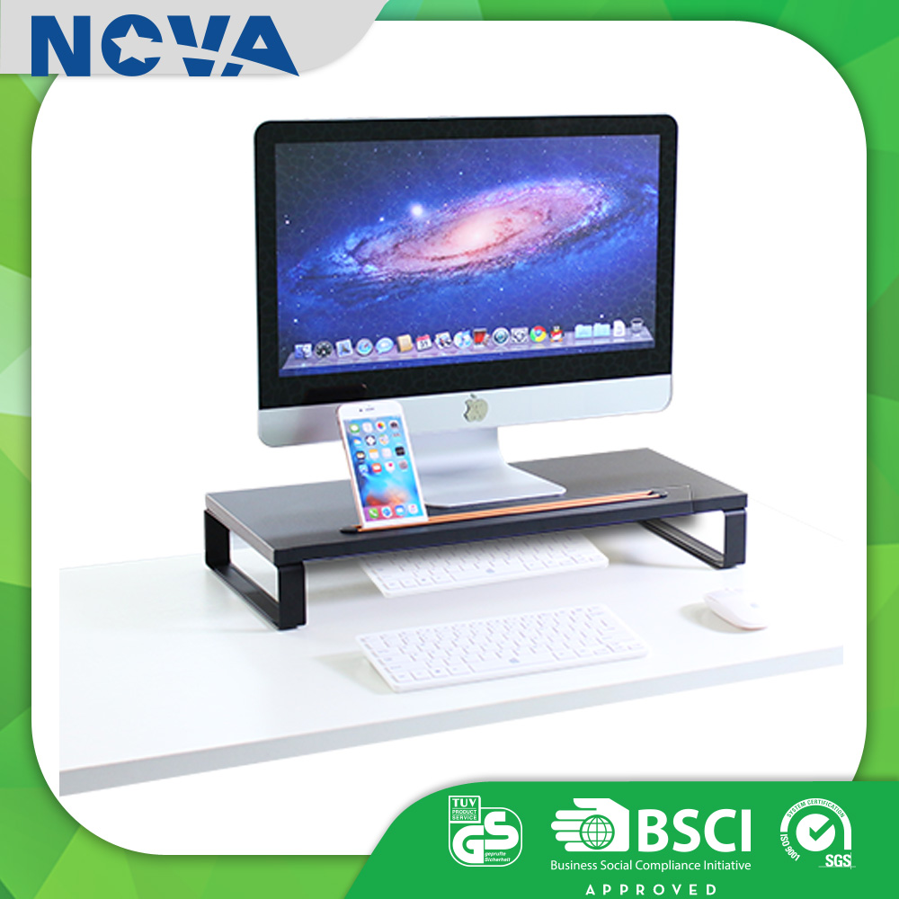 Desktop computer table stand