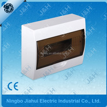 abs uv resistance plastic 12way surface mounted waterpoof distribution box, ABS surface mounting electrical distribution box