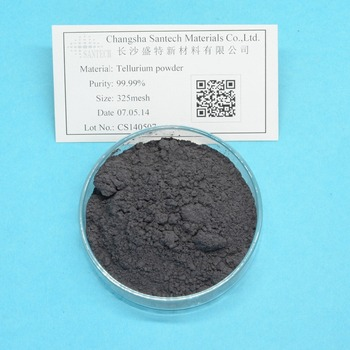 Factory Directly Tellurium Metal / 300 Mesh Tellurium Powder / High Purity Tellurium Granule