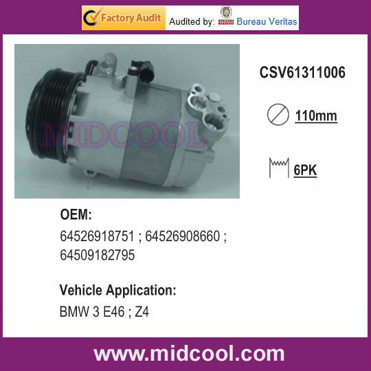 [CSV613]AUTO A/C COMPRESSOR FOR BMW 3 E46 ; Z4