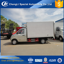 Brand new frozen food refrigerated fiberglass truck box body ice cream truck for sale