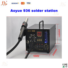 220V hot Air 3 in 1 repair system soldering iron goot Aoyue 936 solder station