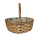 Wicker Storage Basket With Handle Lining Gift Basket Sundries