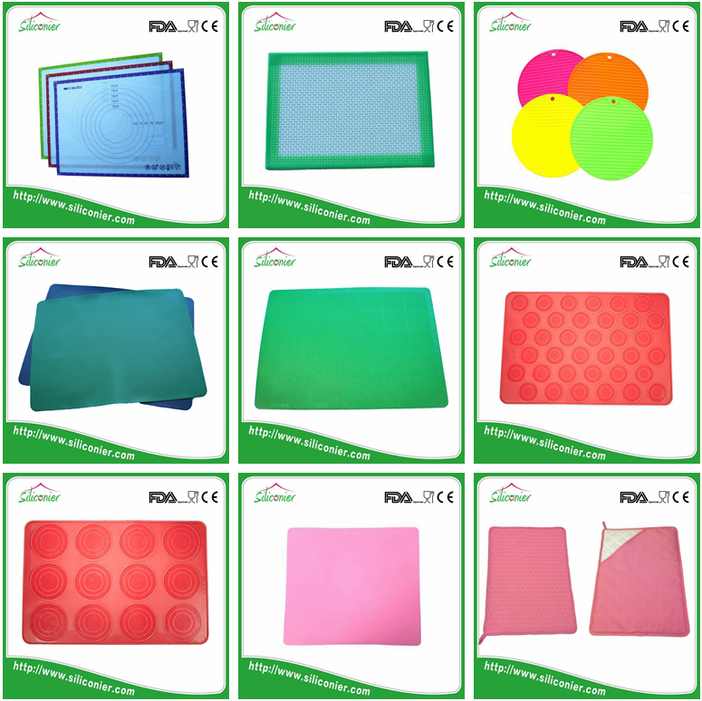 Alibaba golden china supplier silicone rubber baking oven mat