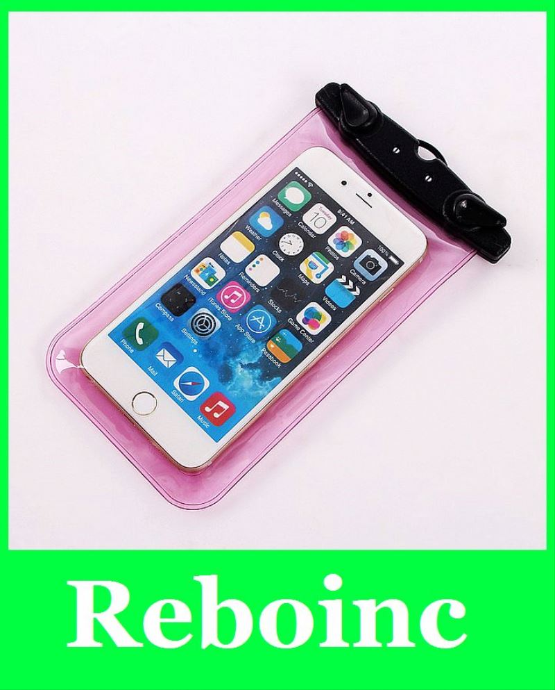 2011 pvc transparent waterproof pocket for cell phone XYL-WB008