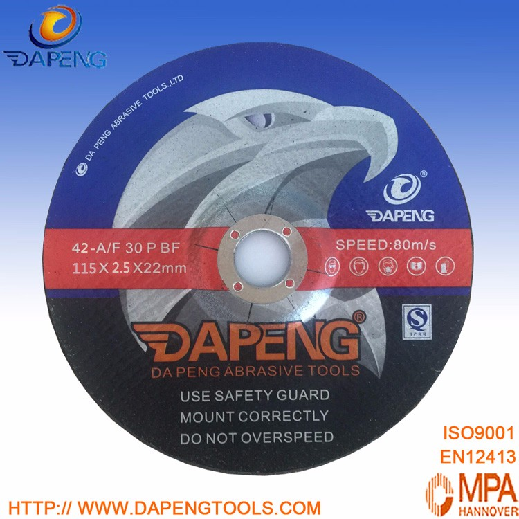 Depressed center cutting disc 115 mm for angle grinder