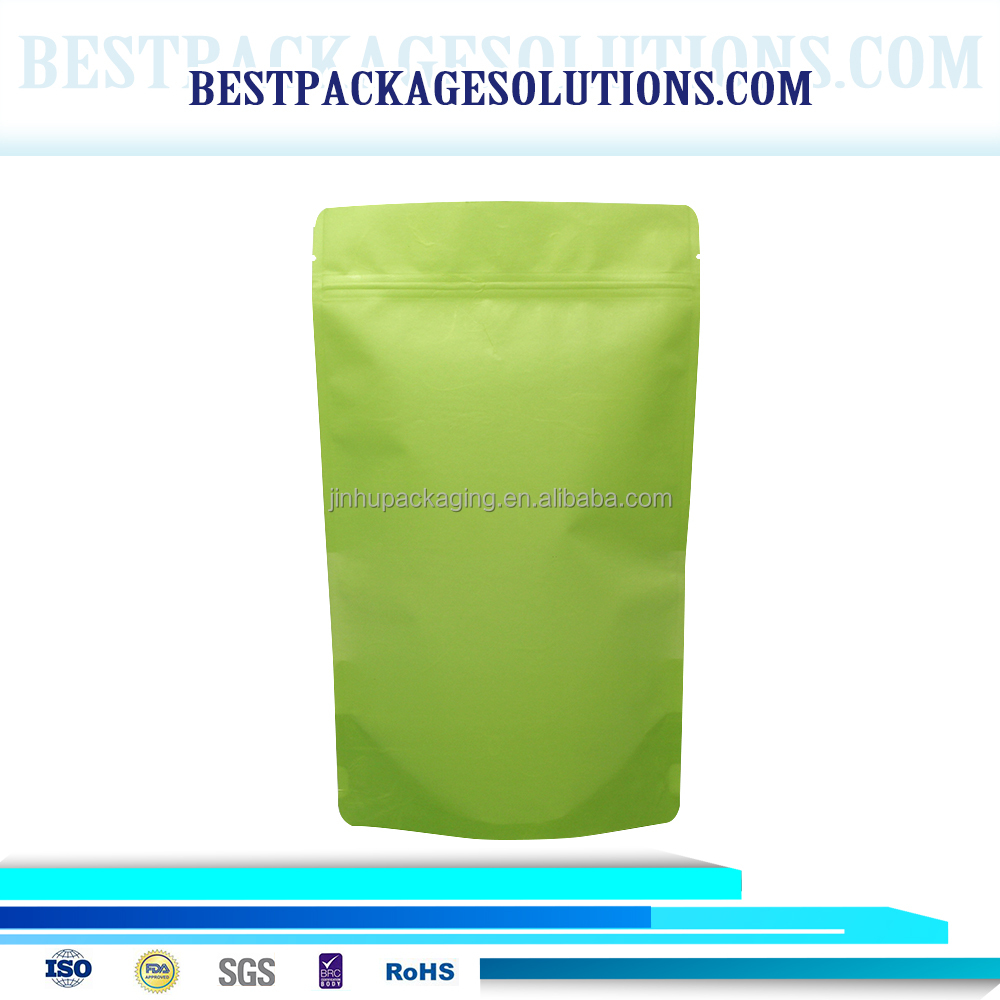 <strong>Rice</strong> Paper Packaging Stand Up Pouch Blcok Bottom Pouch Biodegradable and Strong Water Absorption