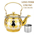 LTK176C Competitive price whistling tea kettle for promotion