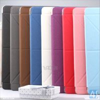 Hot selling ebay transformer pu leather case for ipad 5 air smart cover case