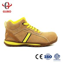 Rubber sole penetration resistant work shoes safety