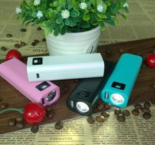 USB Portable flashligh Power Bank 5600mAh External Backup Battery Charger for Cell phone