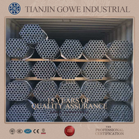 hot-selling ERW steel pregalvanised and hot dip galvanised GI pipes and tubes for saffolding construction